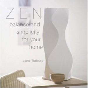 Härlig inspirationsbok av Jane Tidbury. För alla fans av Zen och minimalistisk inredning,