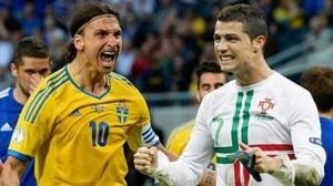 Zlatan och Cristiano Ronaldo. Ytterligheter på personer som är experter. Framtiden får utvisa om vi även ser dem som framgångsrika ledare.