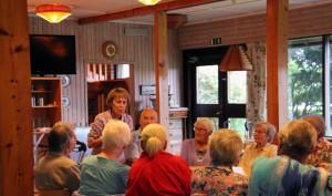 Ibland komme starka upplevelser oväntat. 65+arenn Anne-Marie levererade en fantastisk föreläsning om positivt tänkande. Inlevelse, historier och mycket positiv energi. Många yngre i branschen har mycket att lära av henne :-)