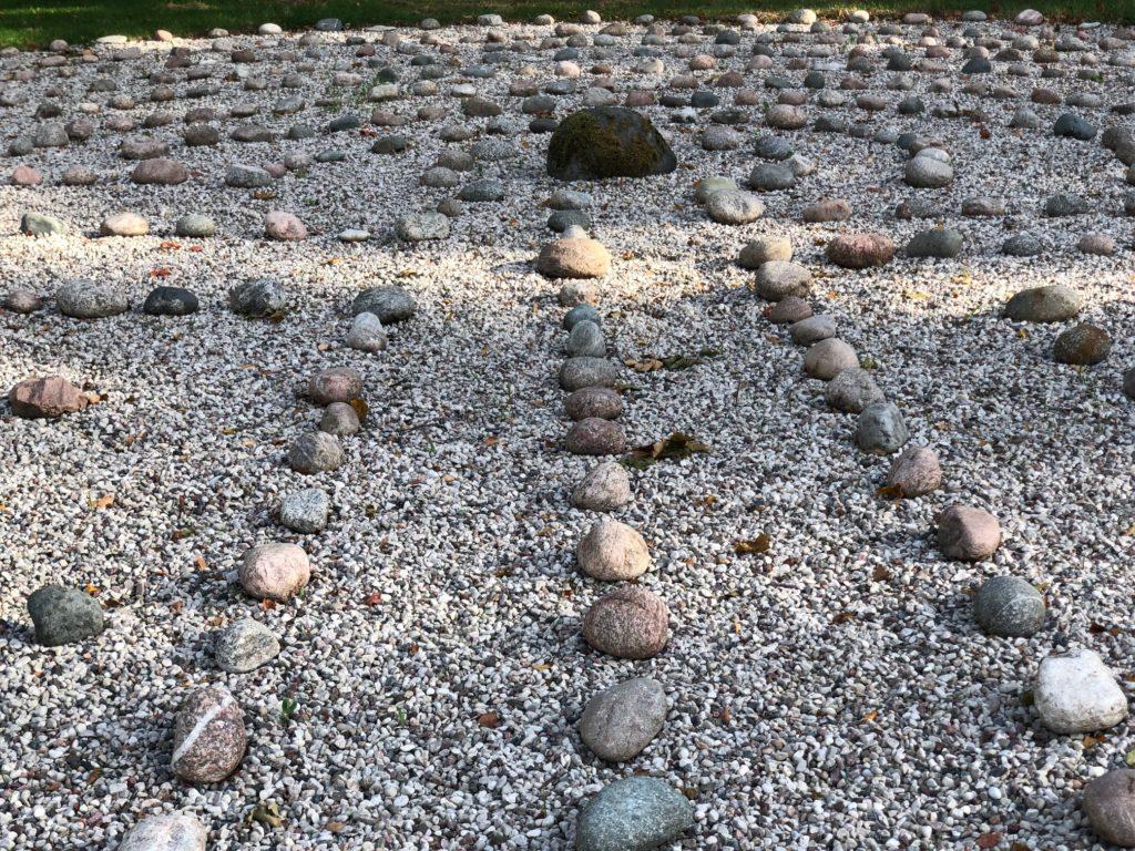 Kraftkällan. Ekegårdens labyrint och trojaborg.